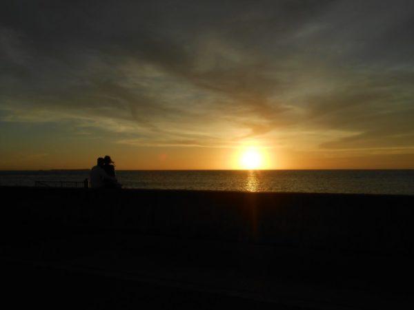 カーミージーの夕陽