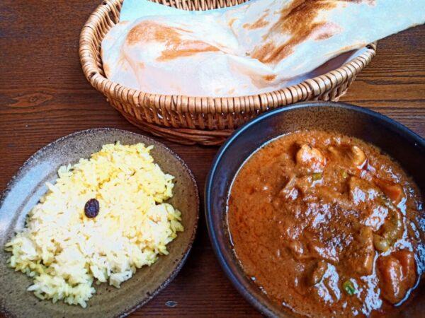 食堂インドのセット